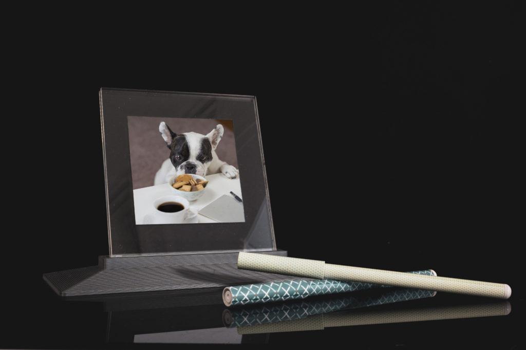 Bilderrahmen 3D-Druck silber