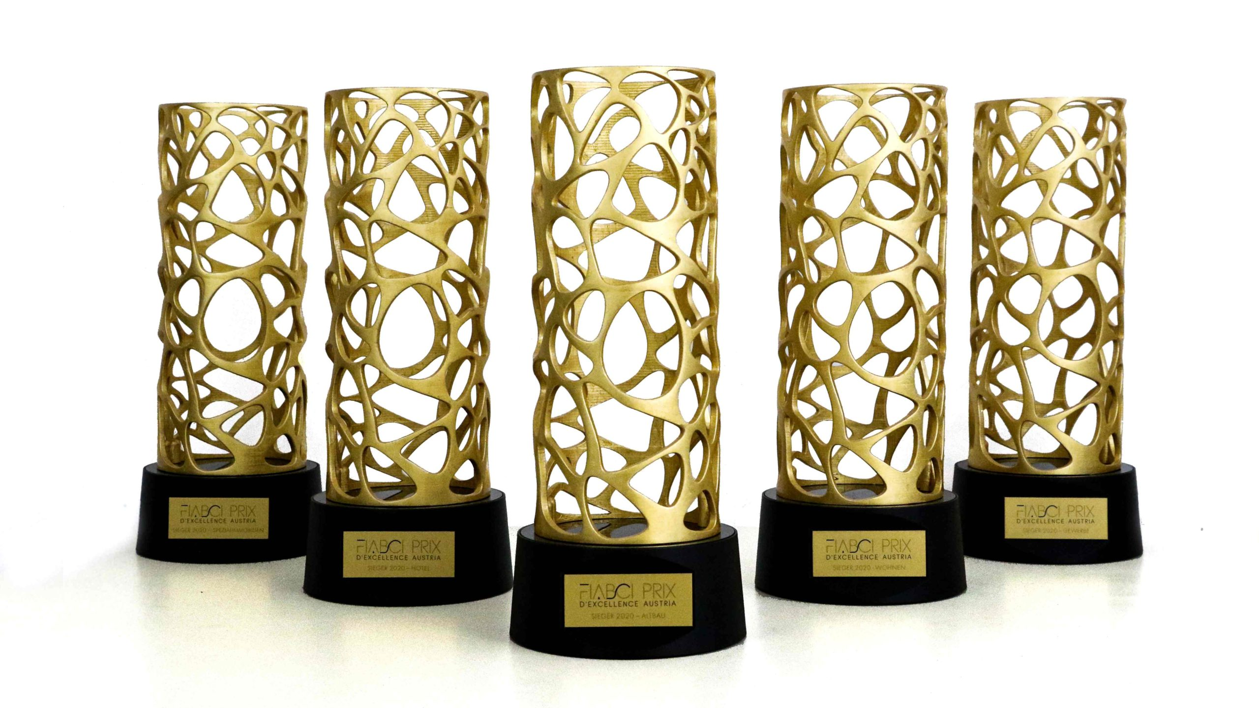 Fiabci-Prix Trophäendesign für Immobilienprojekte
